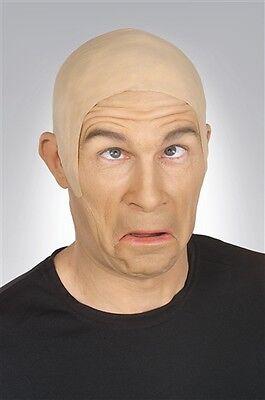 BALD CAP OLD MAN ADULT HALLOWEEN COSTUME ACCESSORY ](Bald Man Halloween Costumes)