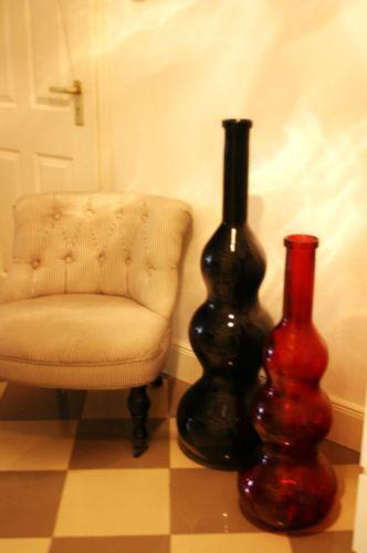 bodenvase schwarz dekoration ebay. Black Bedroom Furniture Sets. Home Design Ideas