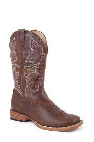 womens square toe cowboy boots size 8 ebay
