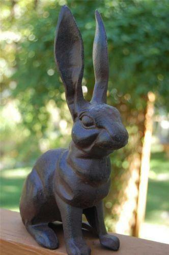 Cast Iron Rabbit Ebay