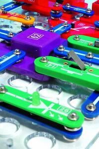 256 Experimente Elektronik Experimentier Set Elektrobaukasten Bausatz für Kinder