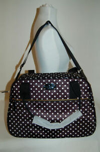 "NWT Kate Spade ""Milla"" Spot Nylon Weekend/Carry-on/Duffel Bag Stratford Kitchener Area image 10"