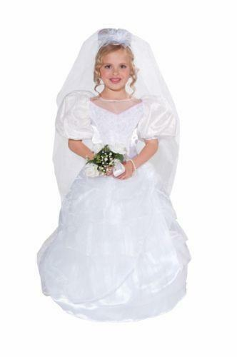 Childs Wedding Dress Costume