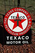 Texaco Flange Sign