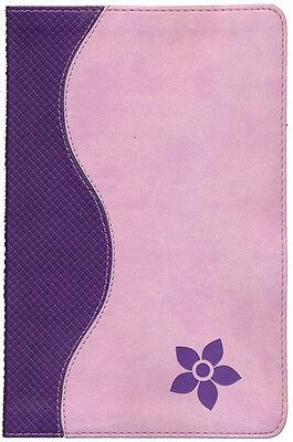 KJV Study Bible for Girls, Purple/Pink Duravella