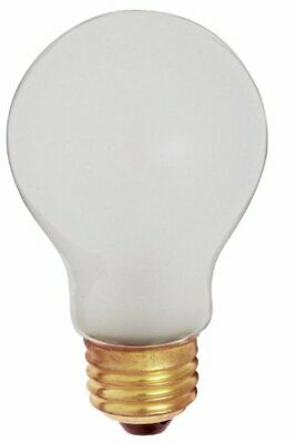 100W 960 Lumens A19 Incandescent Rough Service Shatterproof Light Bulb 2-Pack 100w Rough Service Bulb