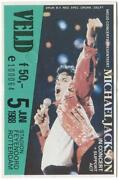 Michael Jackson Ticket