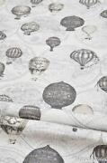 Cream Linen Fabric