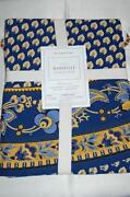 Williams Sonoma Blue Tablecloth