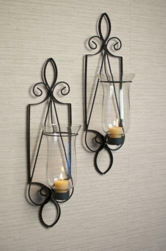 Tuscan Candle Wall Sconce Ebay