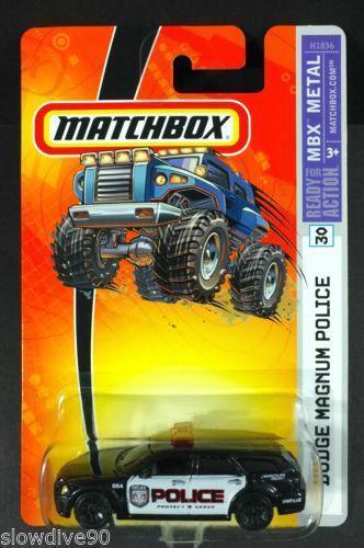 Matchbox Dodge Police Diecast Modern Manufacture Ebay