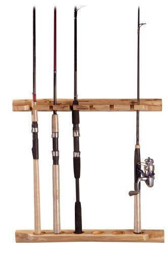 Wood Fishing Rod Holder Ebay
