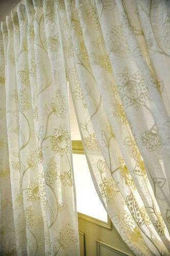 Crewel Curtains Ebay