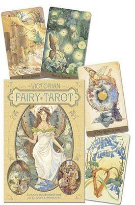 The Victorian Fairy Tarot by Lunaea Weatherstone (2013, Book & Deck Kit)