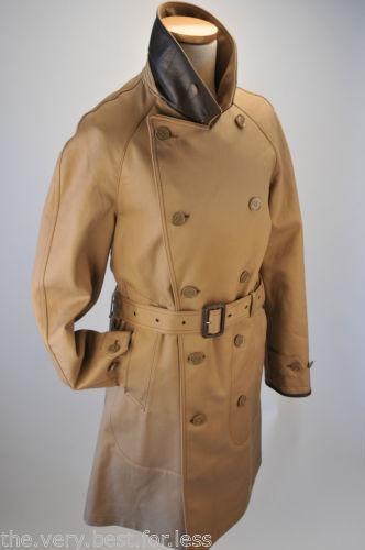 277d6ae43878 Black Burberry Trench Coat Ebay