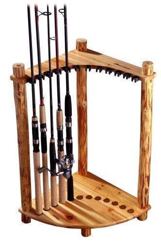 Wood Fishing Rod Rack | eBay