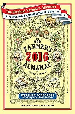 The Old Farmers Almanac 2016 New  Paperback Free Shipping