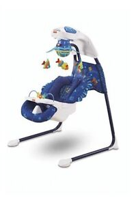 Fisher Price Aquarium Cradle Swing - $50 OBO