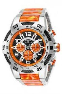 Invicta 25504 50mm Speedway Viper II Remix Quartz Chronograph Date Mens Watch