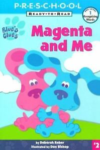 Blues Clue s Ready To Read Ser. Pre-Level 1 Recognizing Words Magenta And Me... - $0.99