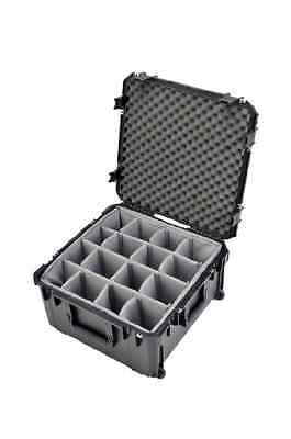 Skb 3i222212bd New - 22 X 22 X 12 Wwheels And Gray Dividers