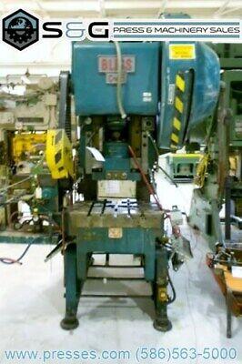 45 Ton Bliss C-45 Obi C-frame Press