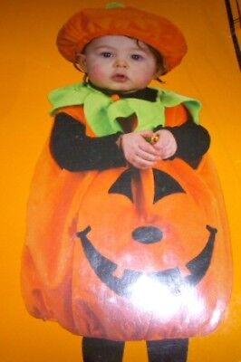Pumpkin Cutie Pie Jack-o-lantern Halloween Costume Infant 20lbs - Pumpkin Pie Costume