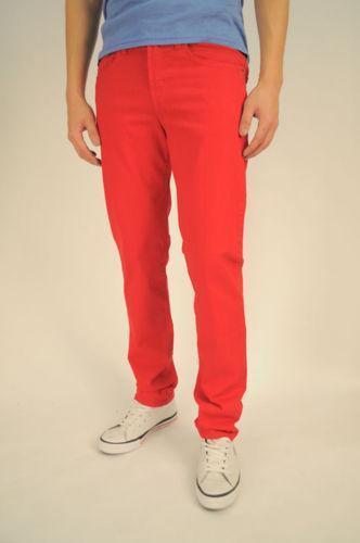 Red Skinny Jeans Boys Ebay