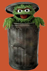 My Oscar The Grouch Sure Loves Picking Up your Trash