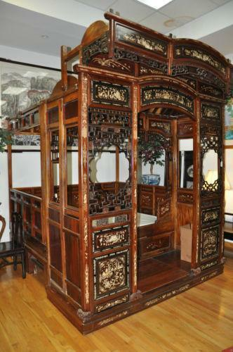Antique Bed: Antique Chinese Bed