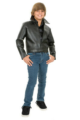 Grease Leather Boys Movie Halloween Jacket - Halloween Costumes Grease