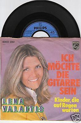 LENA VALAITIS Ich möchte die Gitarre sein 45/GER/PIC