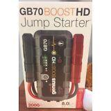 19366934 NOCO Genius Boost GB70 HD 2000 Amp 12V UltraSafe Lithium Jump Starter
