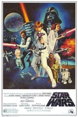 STAR WARS - CLASSIC MOVIE POSTERS - BRAND NEW  - 24x36 INCHES