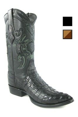 Herren Westernstiefel Cowboystiefel Krokodilleder Kaiman Cuadra B2FUCO - Krokodil Cowboy Stiefel