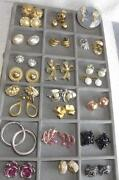 Clip Earrings Lot