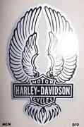 Vintage Harley Decal