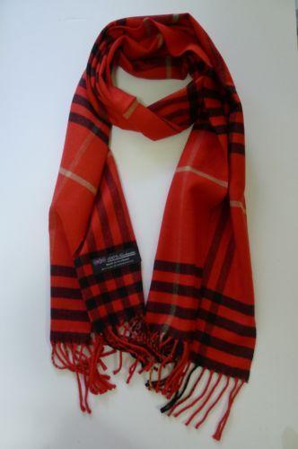 Red Plaid Scarf Clothing Shoes amp Accessories eBay