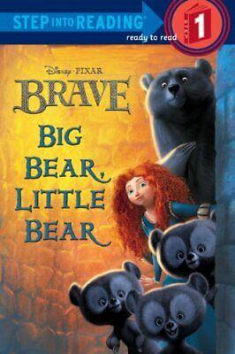 Big Bear  Little Bear  Disney Pixar Brave   Step into Reading  Big Bear Little Bear