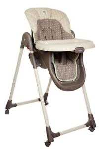 Beau Graco Mealtime Foldable Reclining High Chair