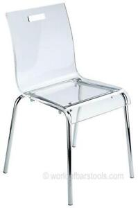 Clear Acrylic Chairs