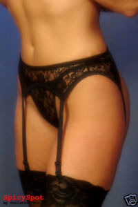Sexy-3pc-Lace-Garter-Belt-Set-with-Matching-Thong-and-Sheer-Thigh-High-Stocking