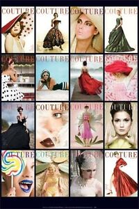 Vogue Cover Art Fashion Magazine Poster Print 24 x 36 inches A6843