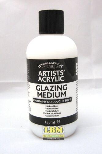 Winsor & Newton Artists' Acrylic Glazing Medium 125ml (3030934)