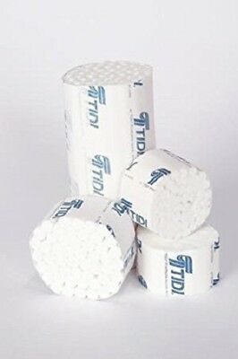 Tidi 38x 1-12 Cotton Dental Rolls 919121 2 Medium Non-sterile Box Of 2000