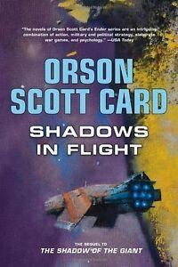 Orson Scott Card-Shadows In Flight-Hardcover In Flight + bonus