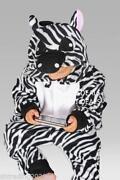 Zebra Onesie Adults