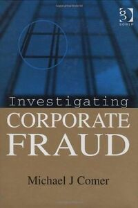 Investigating Corporate Fraud  BOOKH NEW