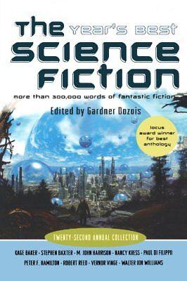 The Years Best Science Fiction  Twenty Second Ann