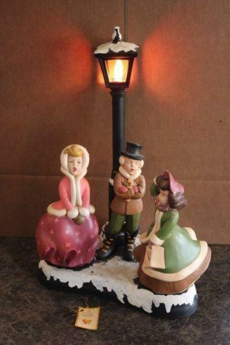 Large Christmas Carolers Ebay